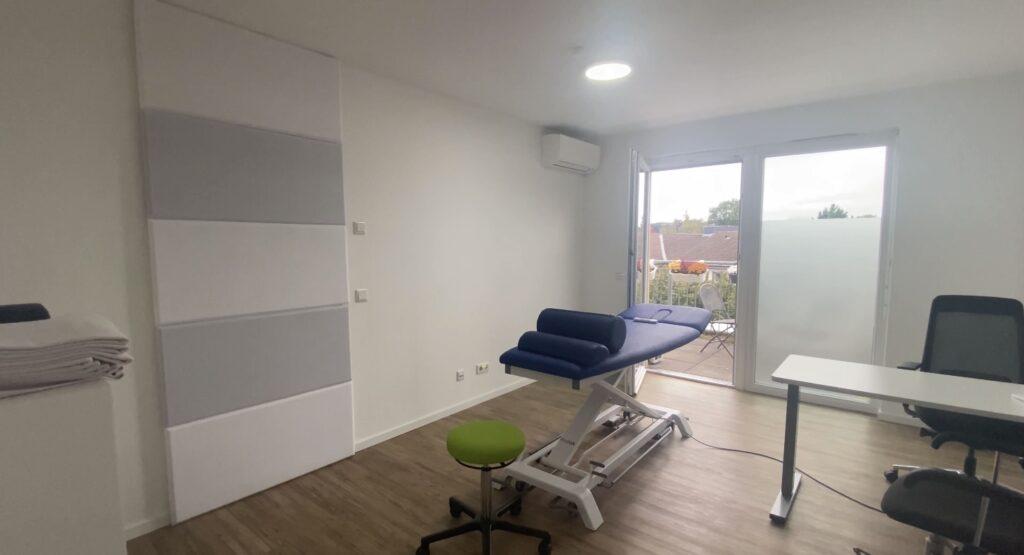 Therapieräume im Obergeschoss